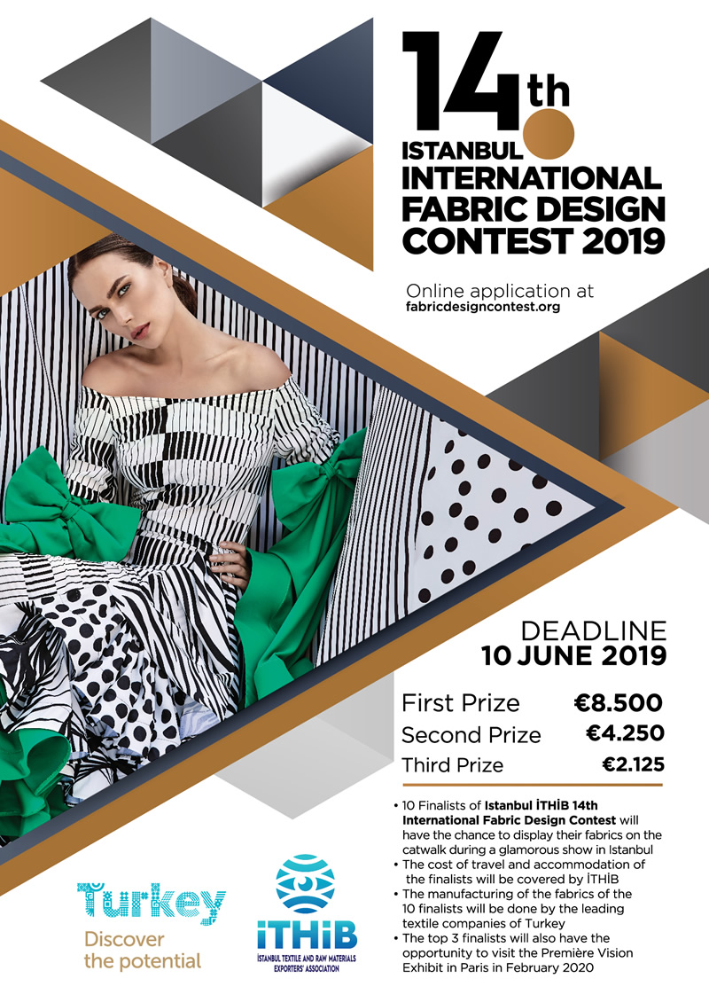 The 14th Istanbul International Fabric Design Contest 2019