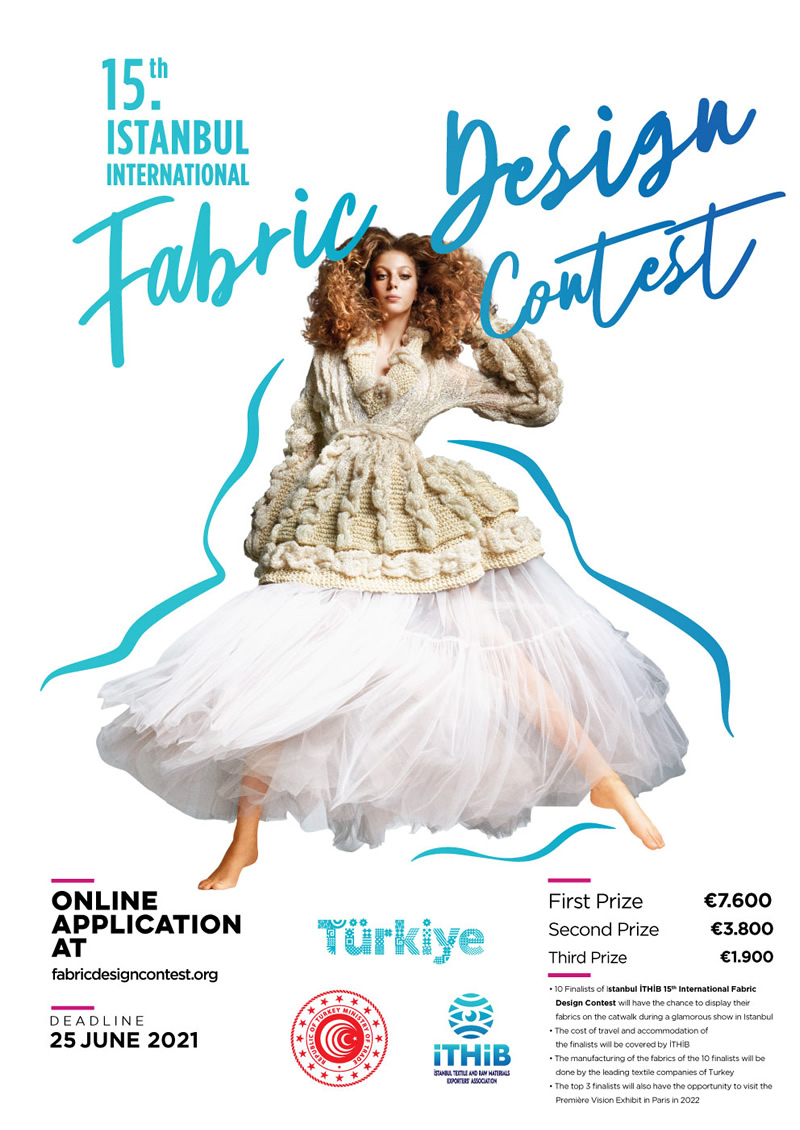 The 15th Istanbul 2021 İTHİB International Fabric Design Contest